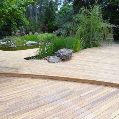 Plancher ext rieur et habillage de terrasse archives for Plancher teck exterieur